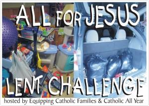 All for Jesus Lent Challenge