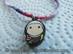 tiny saints bracelet