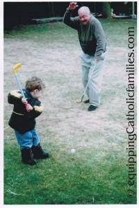 Joe and Grandpa
