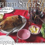 Simplified Seder Supper with FREE PRINTABLE!