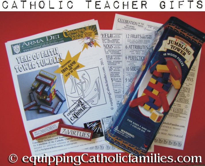 a Year of Faith Gift for Teacher