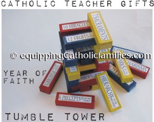 Year of Faith Tumble Tower