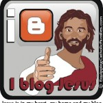 new Christian Blog Badge