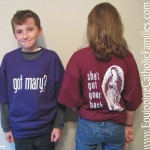 Winners for got Mary? T-shirts!