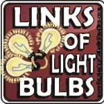 Links of Light Bulbs ~(1)
