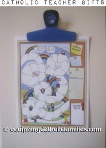 Catholic Family Calendar Teacher Gift