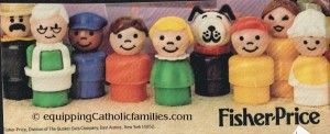 fisher price vintage little people