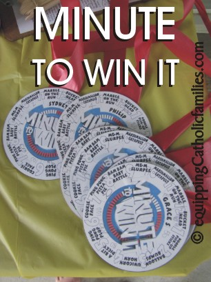 minute to win it medals
