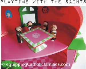 saints at the table