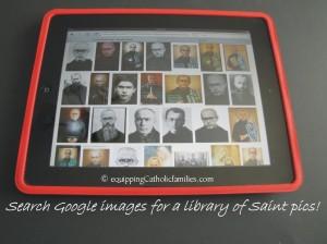 google image saint pics