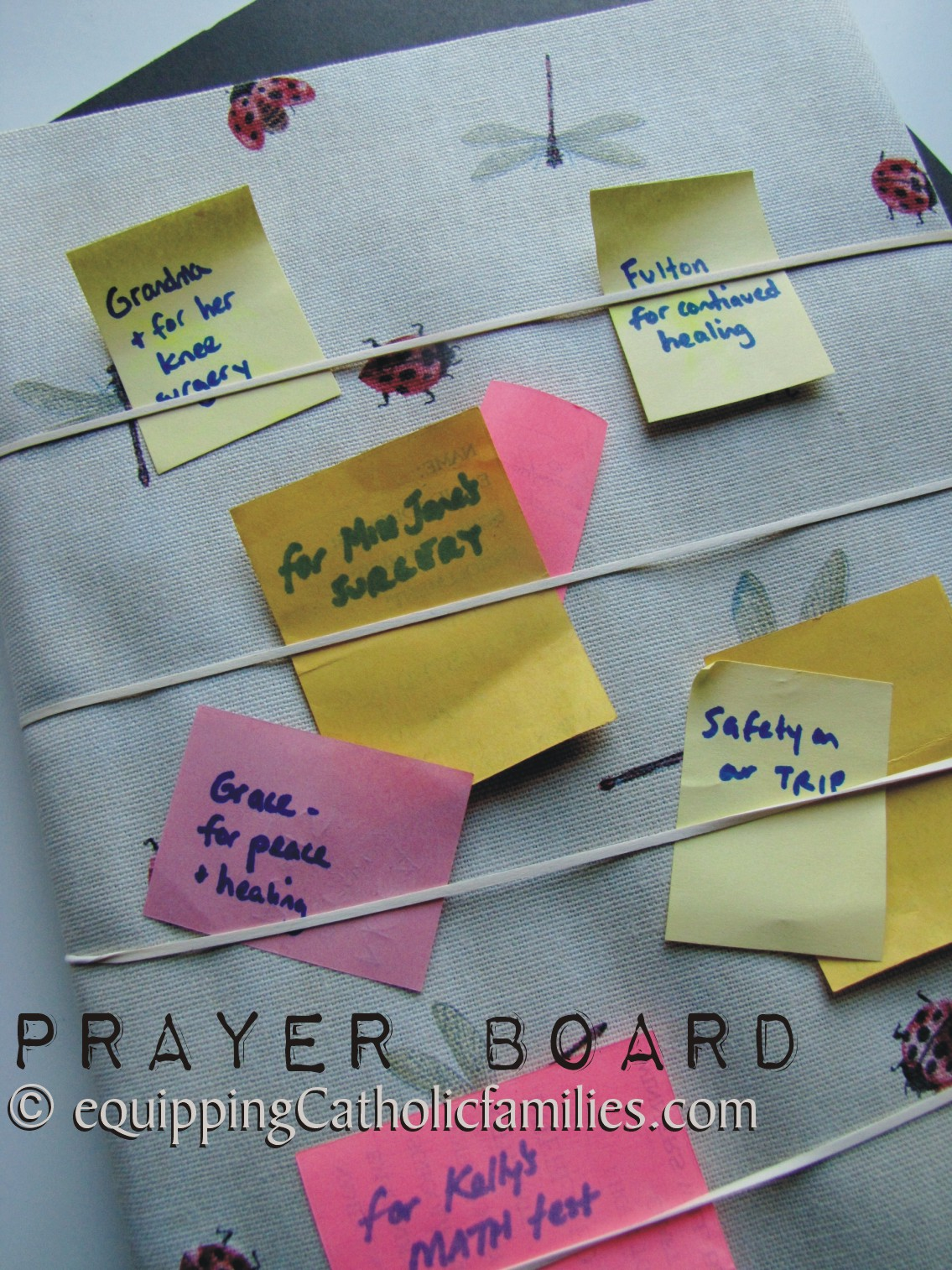 Easy Prayer Boards