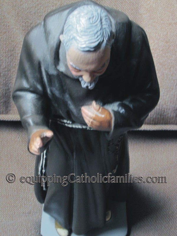 Broken Statues and St Padre Pio