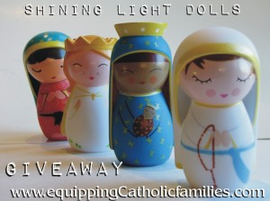 shining light dolls giveaway