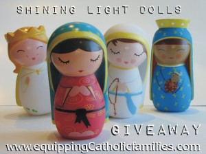 shining light dolls giveaway at equipping catholic families