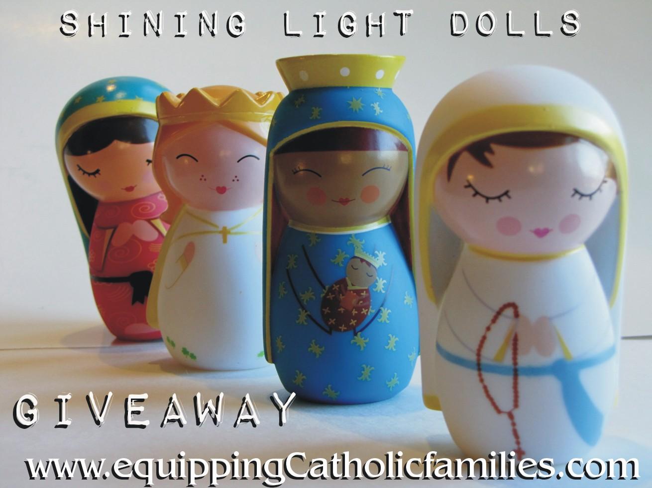 Shining Light Dolls: GIVEAWAY!