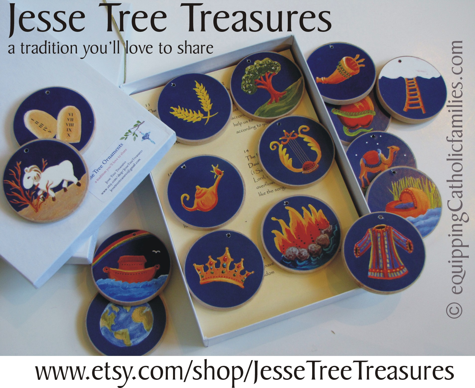 Heirloom Jesse Tree Treasures: GIVEAWAY!