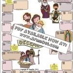 NEW!! Last Minute Family Christmas Gift: Saints Calendar!
