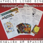 Catholic Lingo Bingo: Vessels and Vestments!