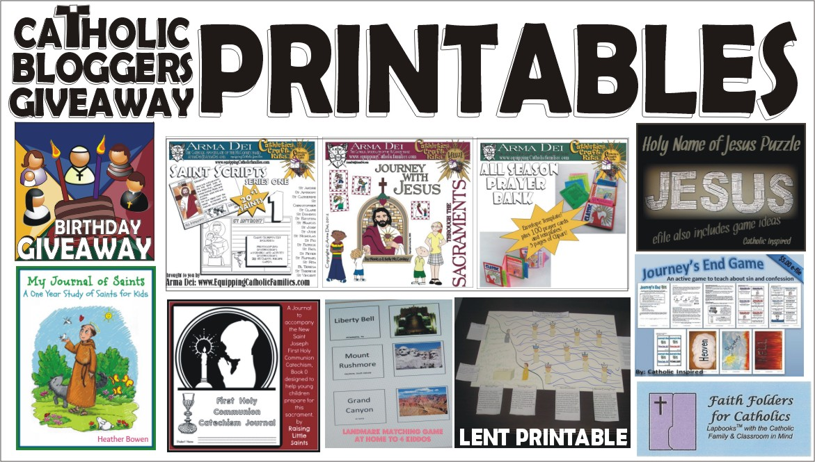 Catholic Printables