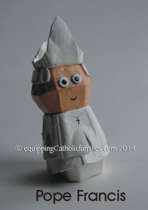 Pope Francis egg carton 1