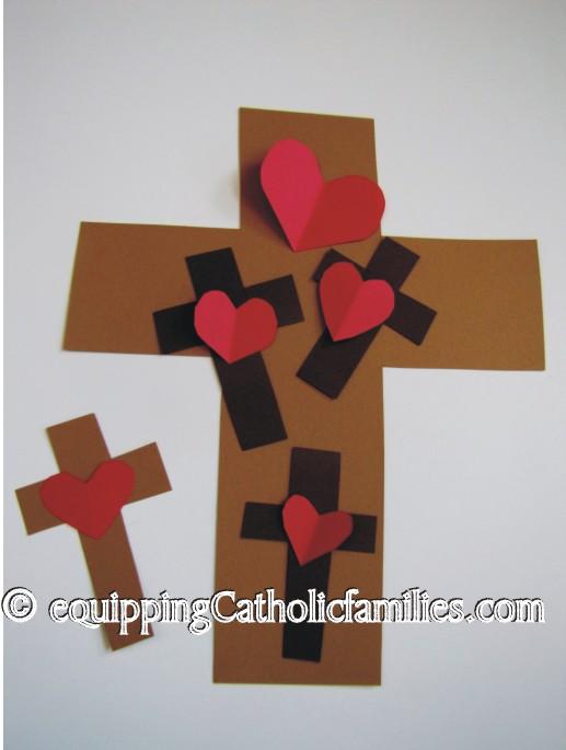 Heart Cross Banner