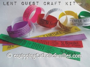 Lent Quest Paper Chain