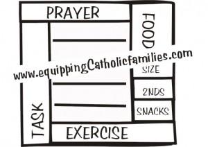 prayer sticker stamp