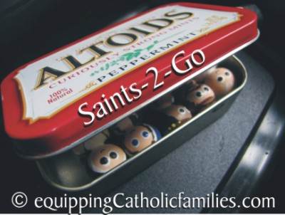 7 Things to do with Wooden Painted Saints