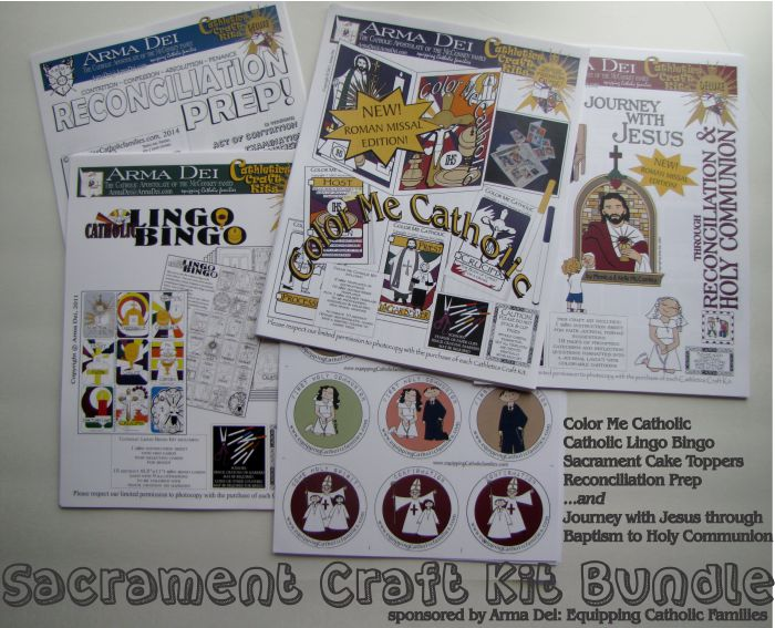 Celebrate First Communion! Awesome Giveaway at CatholicMom.com!