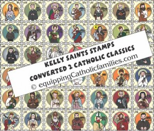 Kelly Saints Stamps Craft Kit
