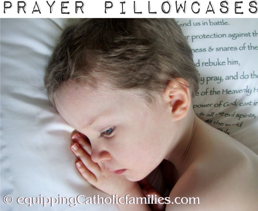 Five Prayer Pillowcases + Giveaway!