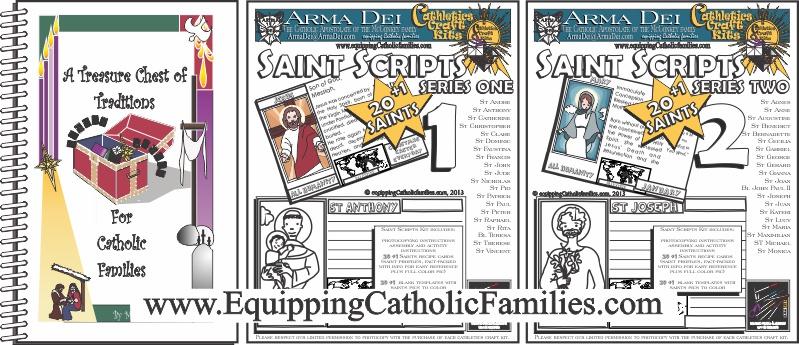 Treasure Chest and Saint Scripts Kits