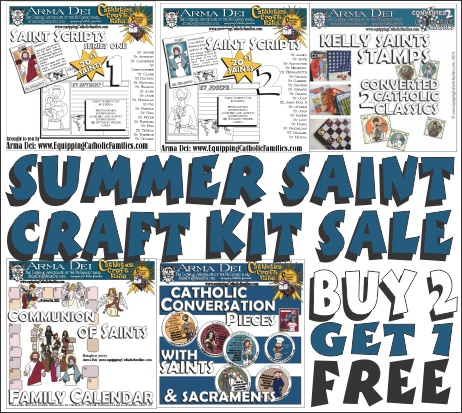 Summer Saints Project Special! Save $15!