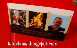 Fulton's Fire Card