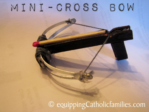 Mini Cross Bow DIY