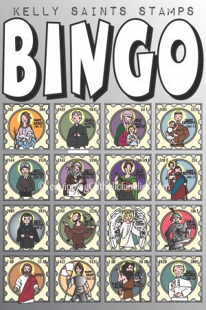 Bingo Kelly Saints Oct 2014