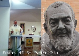 Day 1 St Padre Pio Feast Day