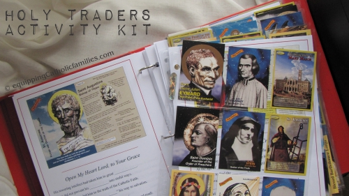 All Saints! Review: Holy Traders Activity Kit