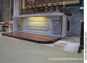 St John Paul II tomb
