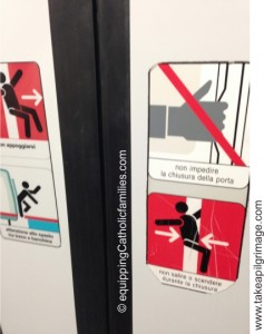 how not to ride the subway