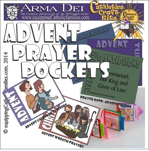 Advent Prayer Pockets