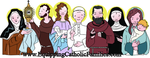 Equipping Catholic Families to celebrate Saint Name Days!