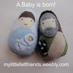 My Little Felt Friends Nativity