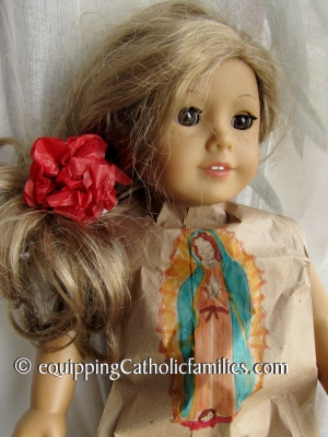 St Juan costume American Girl