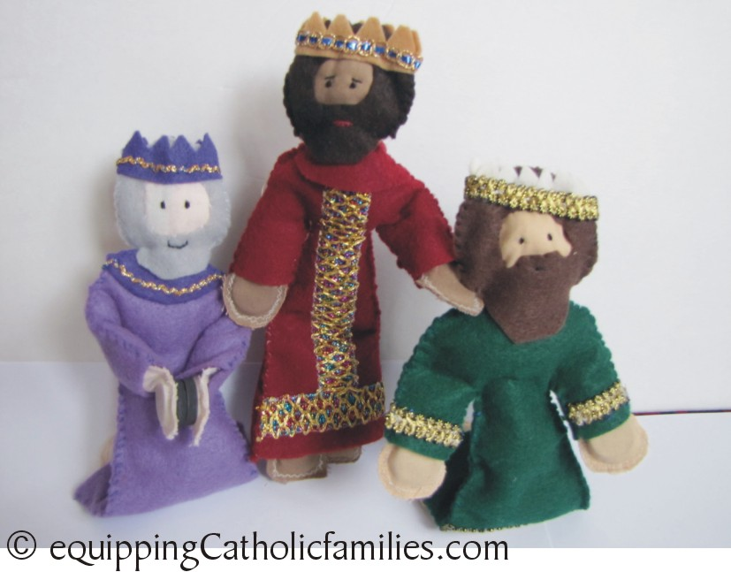 Feast Day Fun: Epiphany and Felt Kings Tutorial