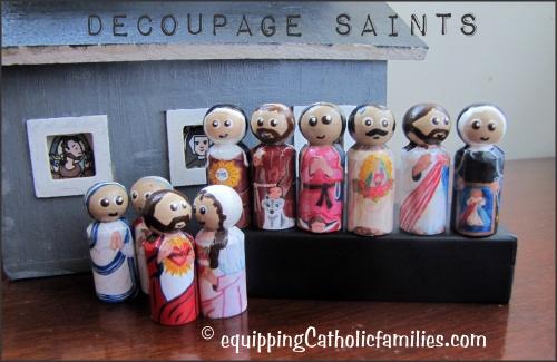Decoupage Saints