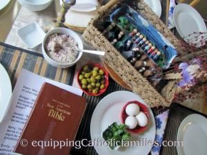 Seder 2014 table