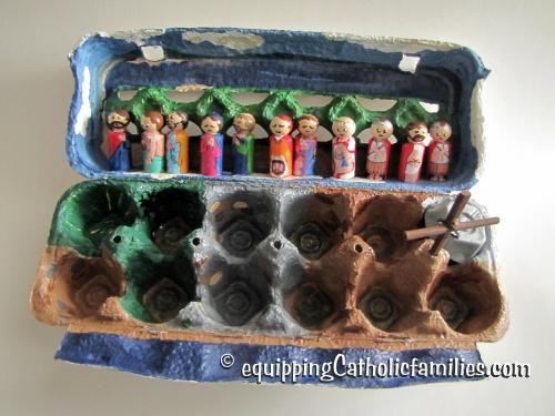 Egg Carton Passion Play 2015