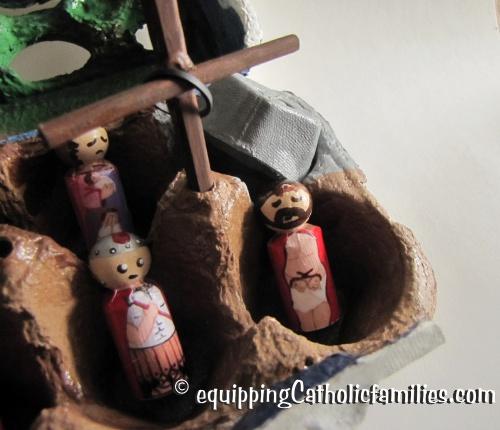 Egg Carton Passion Play