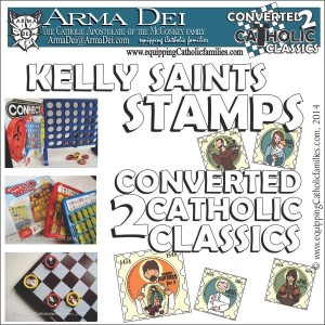Kelly Saints Stamps square cover